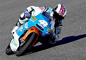 Pol Espargeró rueda en el circuito de Le Mans