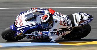Lorenzo consigui� en le Mans su segundo triunfo.
