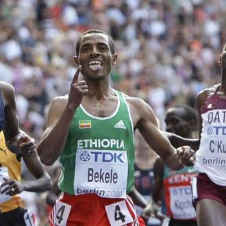 Bekele tendr� que esperar para reaparecer