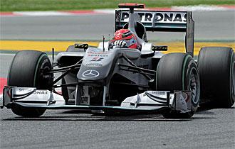 Schumacher se ve con opciones en Turqu�a.