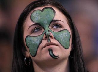 Aficionada de los Celtics