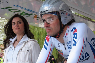 Toni Colom en la Vuelta al País Vasco del año pasado.