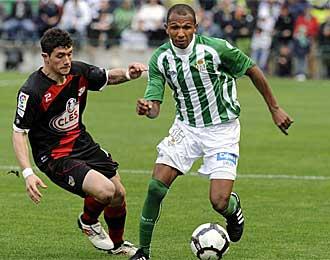 Mehmet Aurelio, durante un partido de esta temporada