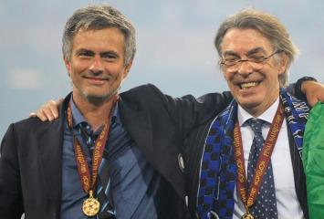 Mourinho y Moratti