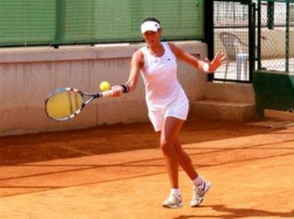 Garbi�e Mugurza, durante un partido en Vinar�s.