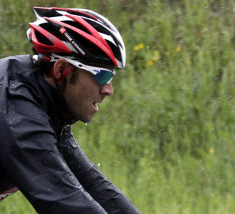 Alejandro Valverde en el pasado Tour de Romandia.