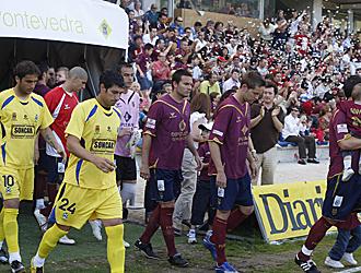 Pontevedra y Alcorc�n saltan al c�sped de Pasar�n