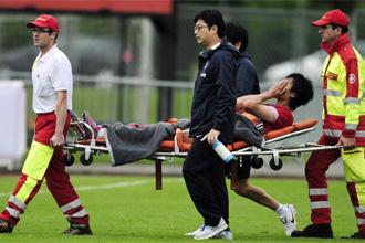 Kwak Tae-Hwi se lesion� ante Bielorrusia.