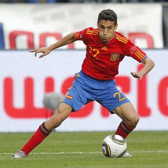 Jesús Navas, durante el amistoso entre España y Arabia Saudí jugado el pasado sábado en Austria.