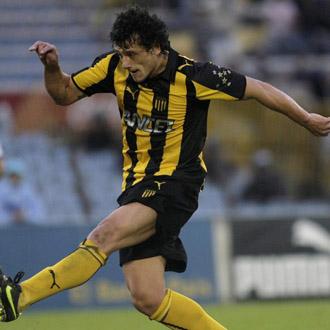 Aguirregaray, jugador del Pe�arol