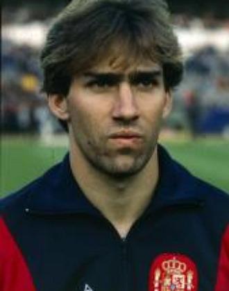 Mart�n V�zquez, cuando jugaba con La Roja