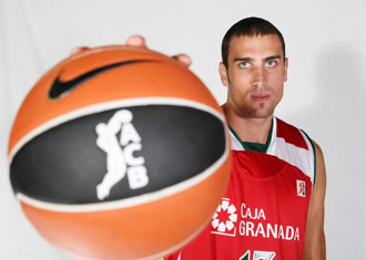 Pablo Aguilar, jugador del Granada