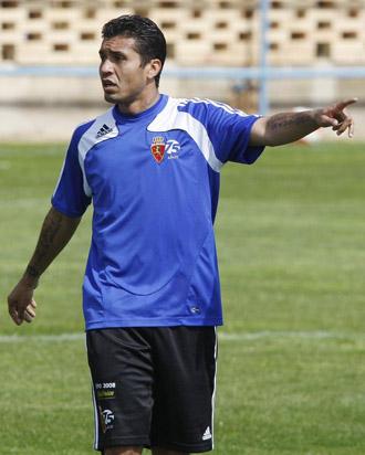 Matuzalem, en su etapa en el Zaragoza.