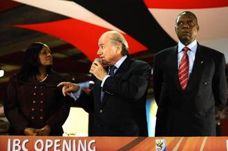 Blatter confirma la asistencia de Mandela a la inauguraci�n