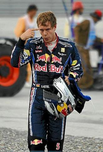Vettel, tras su abandono en el pasado Gran Premio de Turqu�a al chocar con Webber