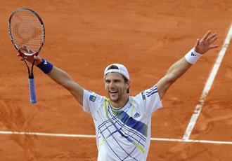Melzer se ve las caras con Nadal tras un maratoniano partido ante Djokovic