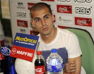 Juanma, el h�roe ante el Huesca, no podr� seguir ayudando al Betis.