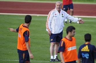 Para Hagi, Del Bosque es el mejor entrenador del Mundial