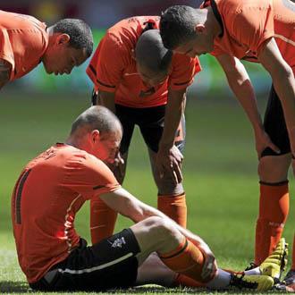 La lesi�n de Robben se ha convertido en una cuesti�n de estado en Holanda