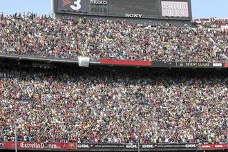 Soriano quiere aplicar la tecnolog�a al Camp Nou