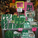 Merchandising de los Celtics en Boston