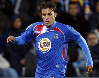 Pedro Le�n, durante un partido de la pasada Liga BBVA.