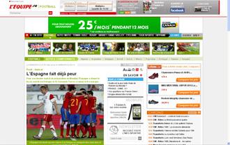 L'Equipe se deshace en elogios hacia Espa�a