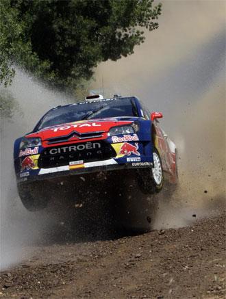 Sordo durante una de las etapas del Rally de Portugal
