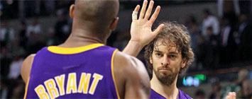 Kobe y Pau
