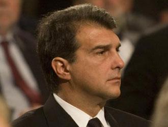Juan Laporta en un acto