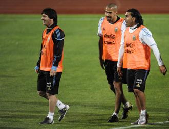 La situaci�n f�sica de Messi preocupa al preparador f�sico argentino