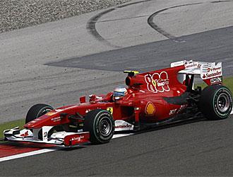 Alonso espera una mejora en el rendimiento de su monoplaza