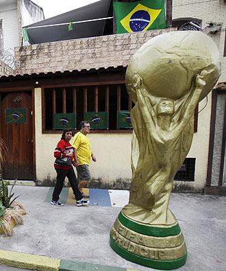 Brasil busca su sexta copa del mundo.