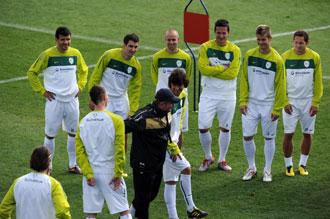 La uni�n del grupo ha sido una de las claves del triunfo esloveno