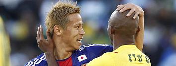 Jap�n 1-0 Camer�n