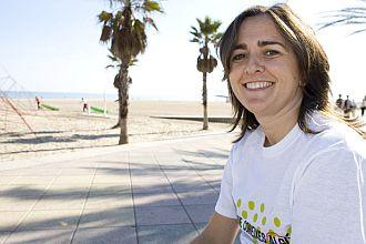 Selina Moreno posa para los medios