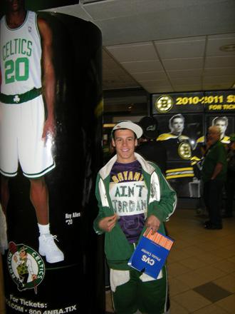 El aficionado de los Celtics que tiene claro que KB no es MJ
