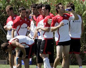 Pretemporada del Athletic la pretemporada pasada en Isla Canela