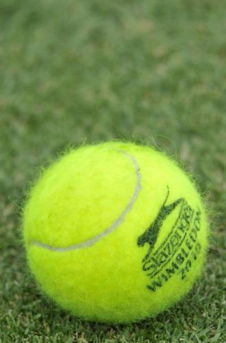 Pelota que se utilizar� en la edici�n 2010 de Wimbledon.