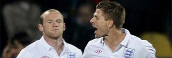 Gerrard y Rooney