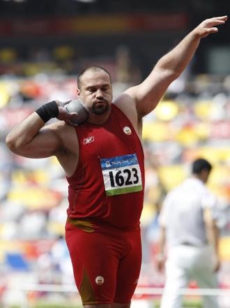 Manolo Mart�nez en los Juegos Ol�mpicos de Pek�n