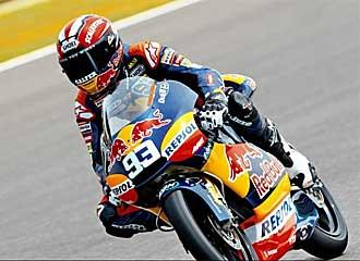 Marc M�rquez saldr� primero en Silverstone