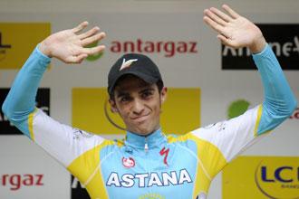 Contador sigue en la cuarta plaza