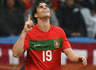 Tiago celebra uno de sus goles