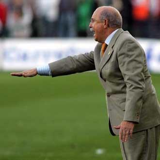 Serra Ferrer, en su �poca como entrenador