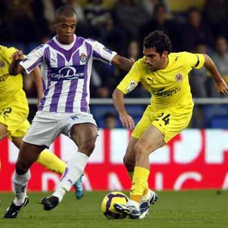 Villarreal y Valladolid han sido sus dos equipos en su estancia en la Liga BBVA