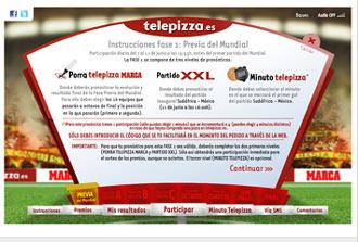 Ju�gatela con MARCA.com y Telepizza