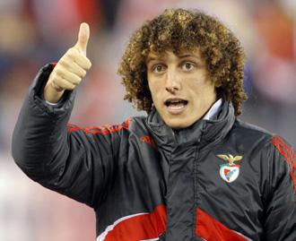 David Luiz, defensa del Benfica