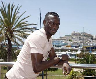 Mahamadou Diarra, durante la entrevista concedida a MARCA en Ibiza.
