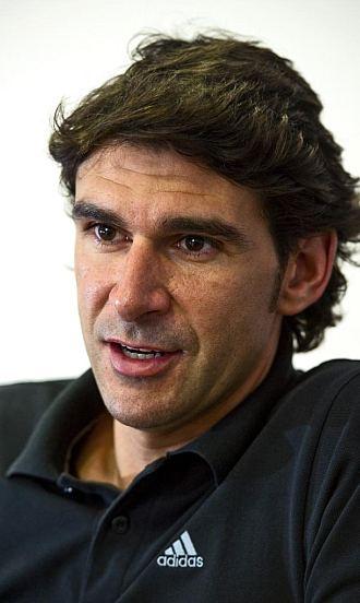Aitor Karanka, durante una entrevista concedida a MARCA.